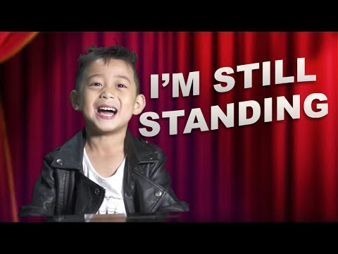 Quin TV (5 yr old) cover I'M STILL STANDING from SING!