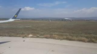THOMAS COOK A321 Takeoff Palma Mallorca Airport - Engine start/pushback/takeoff