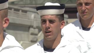 The Class of 2021 made it through Plebe Summer — Parents Weekend is...