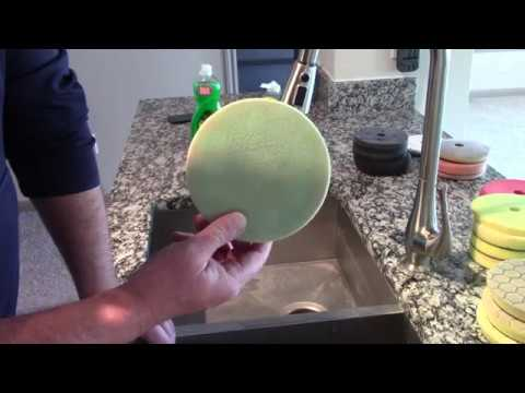 Best Way To Clean Polishing Pads - Amazing!!