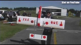 Ron's Scratchbuilt Rc Plane - The Second Flight Attempt