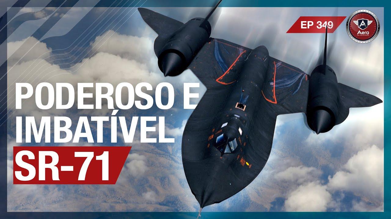 Lockheed SR-71 Blackbird - Até hoje o AVIÃO MAIS RÁPIDO DO MUNDO