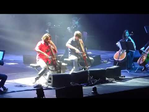 2Cellos (Game Of Thrones: Medley) Cover, Rogers Arena, Vancouver, Apr.25th. 2018