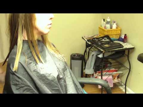 Женская стрижка для волос средней длины