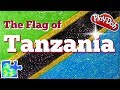 Play-Doh FLAG of TANZANIA!  || Tanzanian Flag || Flags of the World