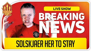 SOLSKJAER OUT of His Depth! GOLDBRIDGE RANT! Man Utd News Now