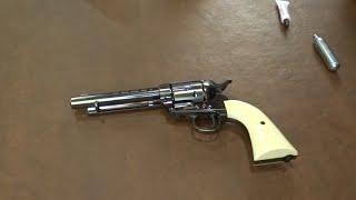 BB Gun Colt Peacemaker SAA - First Shoot