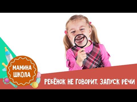 Ребенок 2-3 года не говорит. Запуск речи