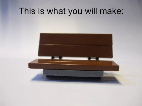 How To Make A Authentic Lego Bench Perfect For Animators