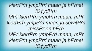 Eppu Normaali - Nuori Poika Lyrics