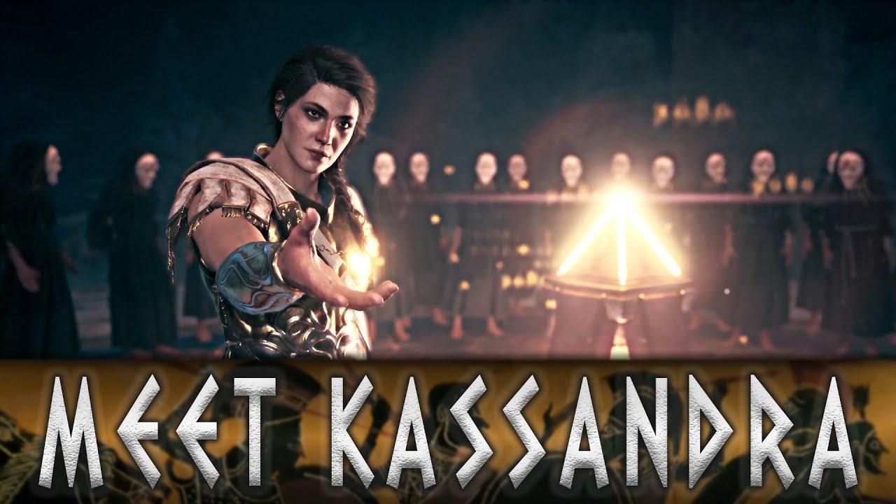 Assassin S Creed Odyssey Alexios Meets His Sister Kassandra