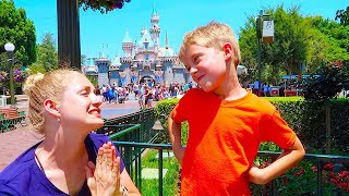 Kids Rule The Day At Disney! 3 Wishes Come TRUE! 600,000 Subscriber Video!