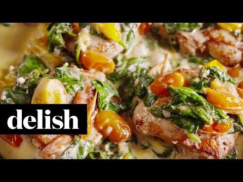 Chicken Florentine | Delish