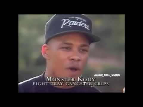OG Crip Monster Kody 1991 Interview