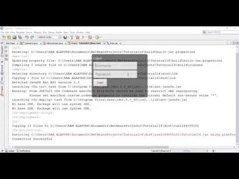 JavaFX 8 Tutorial 16 - Cascading Style Sheet (CSS)