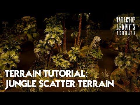 Terrain Tutorial 01: Jungle Scatter Terrain