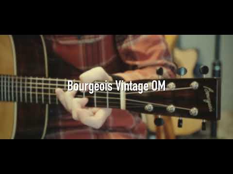 Bourgeois Vintage OM Fingerstyle
