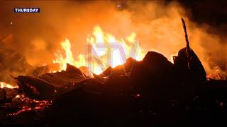 KAMWOKYA FIRE: Residents warned against constructing under power lines