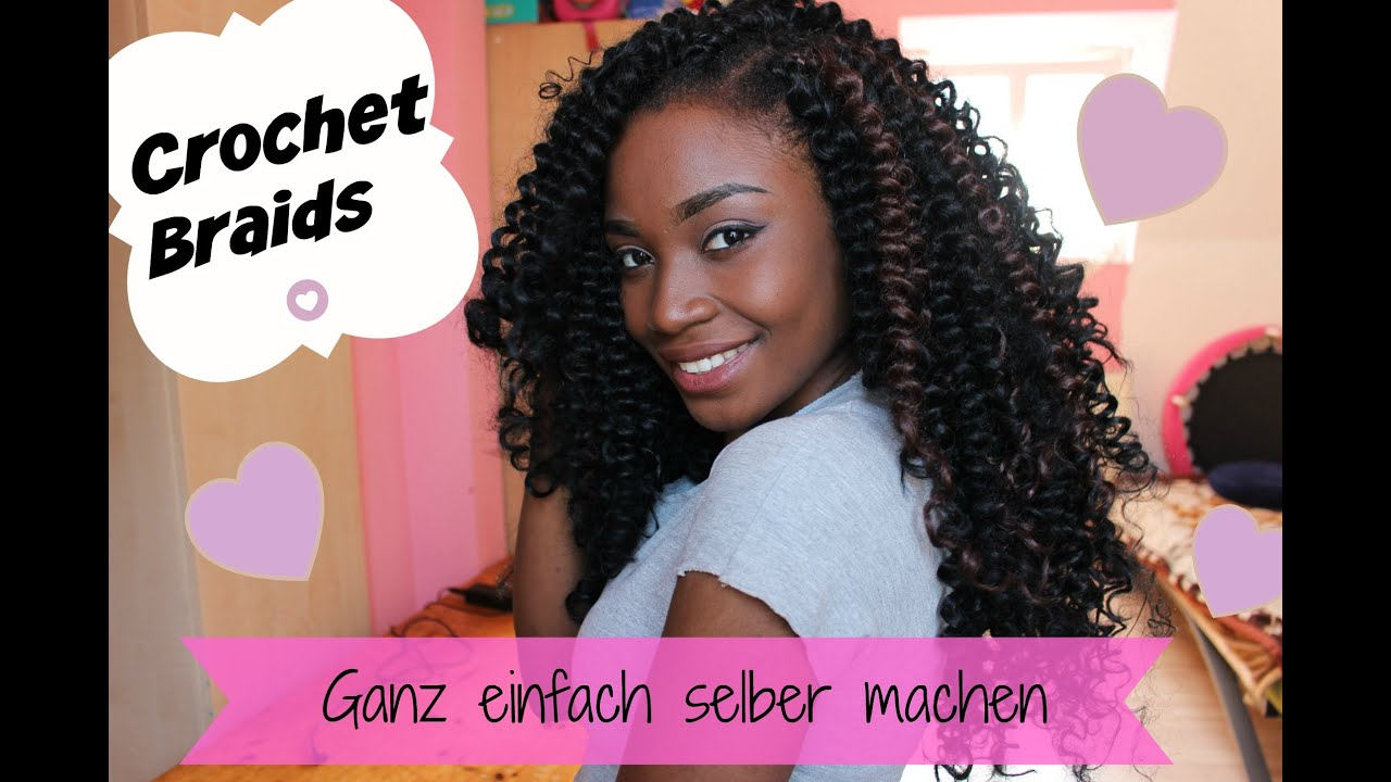 Crochet Braids Yourself : CROCHET BRAIDS Do it yourself + Locken mit X-Pression - YouTube