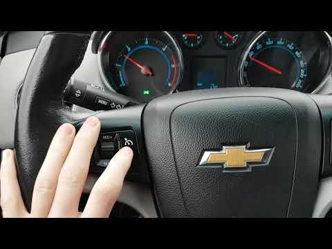 Chevrolet Cruze - Setting The Tempomat
