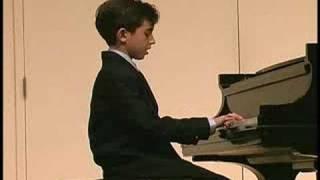Ben Gottesman Piano - Melody, Op.68, No.1 - Schumann