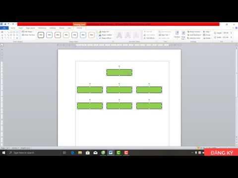 hướng dẫn tạo biểu đồ bằng thanh Shapes trong word
