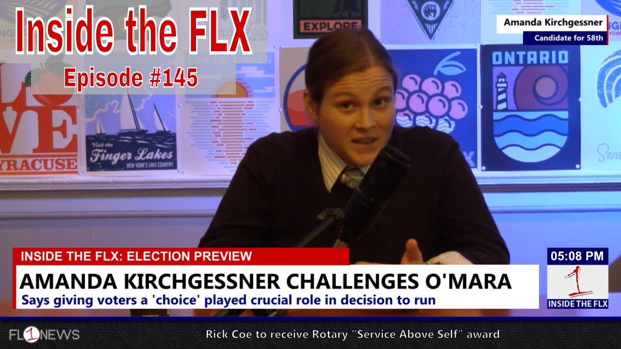 Amanda Kirchgessner for New York State Senate .::. Inside the FLX 11/2/18