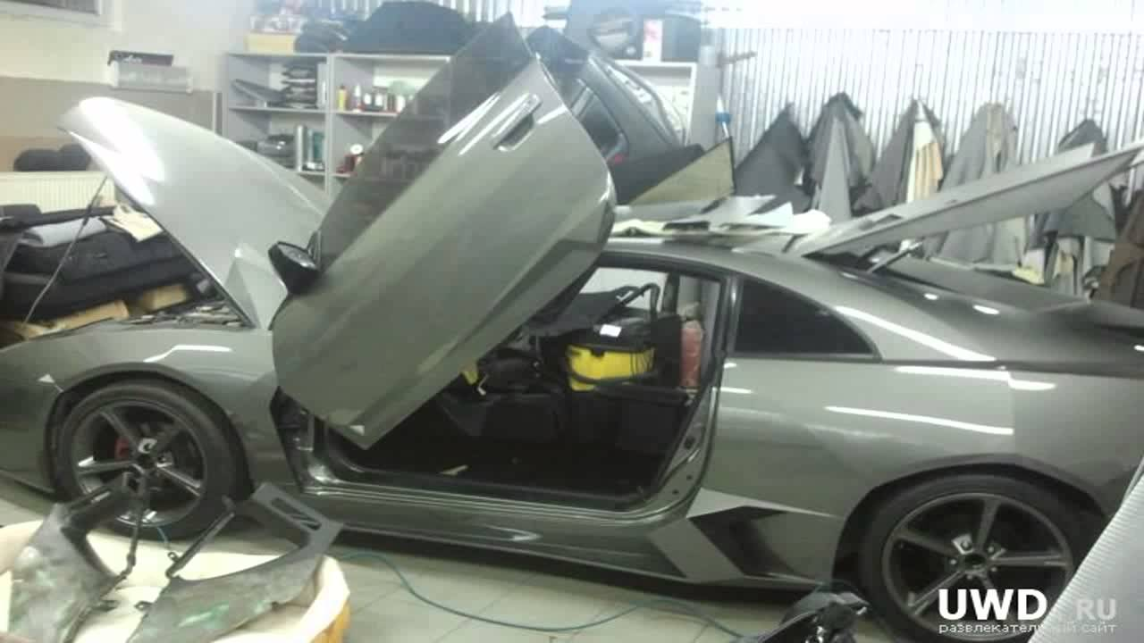 Lamborghini Reventon Replica By Lamborfierio En Fibra De Vidrio En Mexico D F 3a Parte Youtube