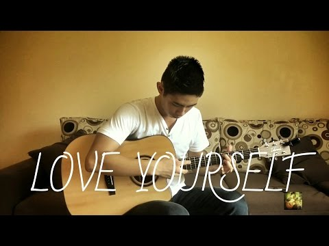 (justin bieber) love yourself - brian zhang - fingerstyle cover