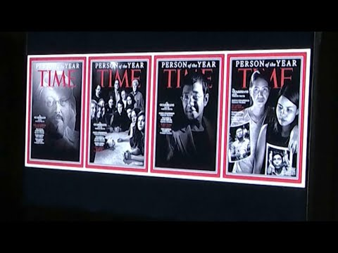 """TIME Declares Journalists """"Person of the Year"""""""