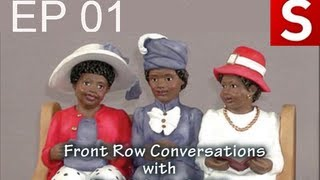 front row conversations welcomes first lady clytemnestra l clarke
