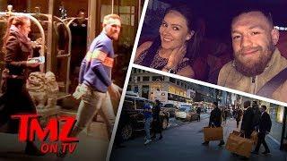 Conor McGregor Takes His Baby Mama On A Shopping Spree |  TMZ TV