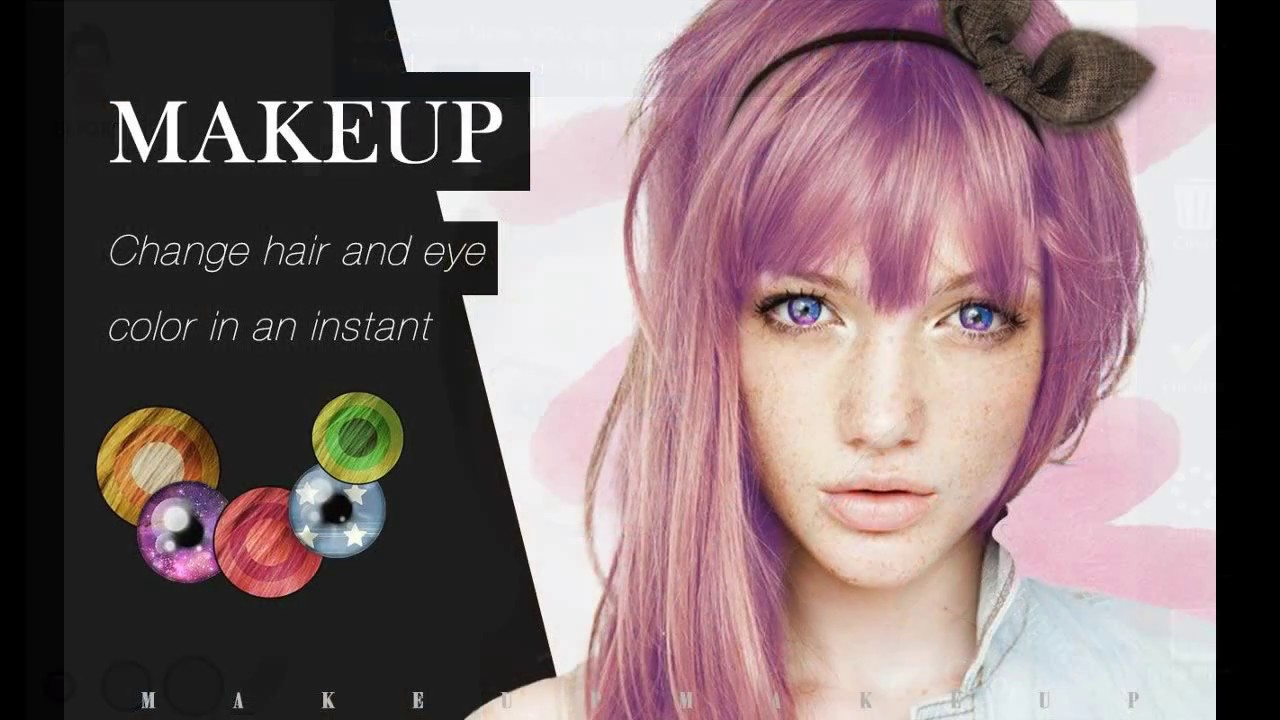 App To Change Hair Color And Style Youtube