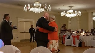 Mom And Dad Slow Dancing To My Girl.