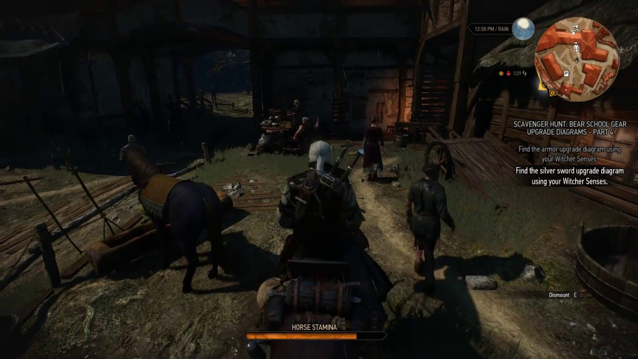 The Witcher 3 How to get to the Ruins of Clan Tuirseach