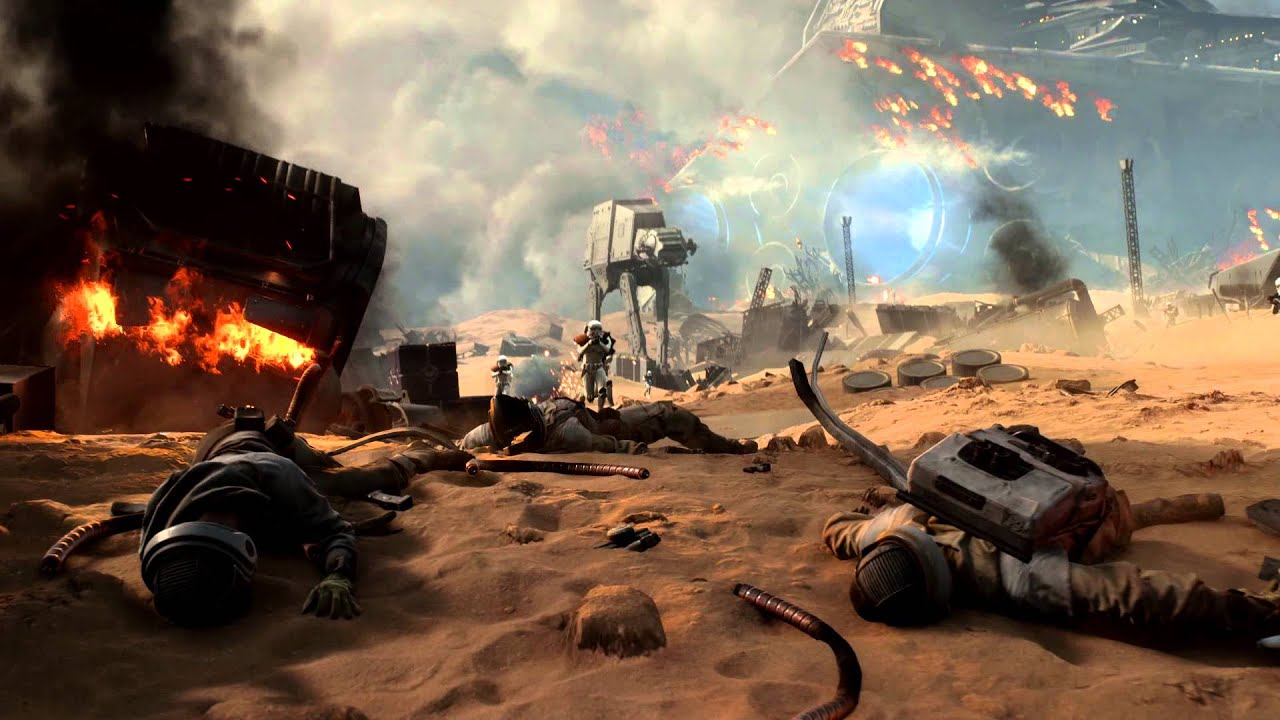 Star Wars Battlefront Battle of Jakku DLC Review