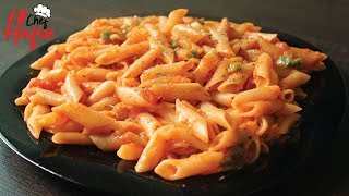 Red Sauce Pasta | Pasta In Red Sauce By Hafsa