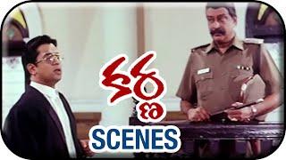 Karnaa Movie Scenes | Arjun Interrogating Ravichandran | Arjun | Ranjitha