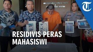Ancam Sebar Video Tanpa Busana, Residivis Peras Mahasiwi