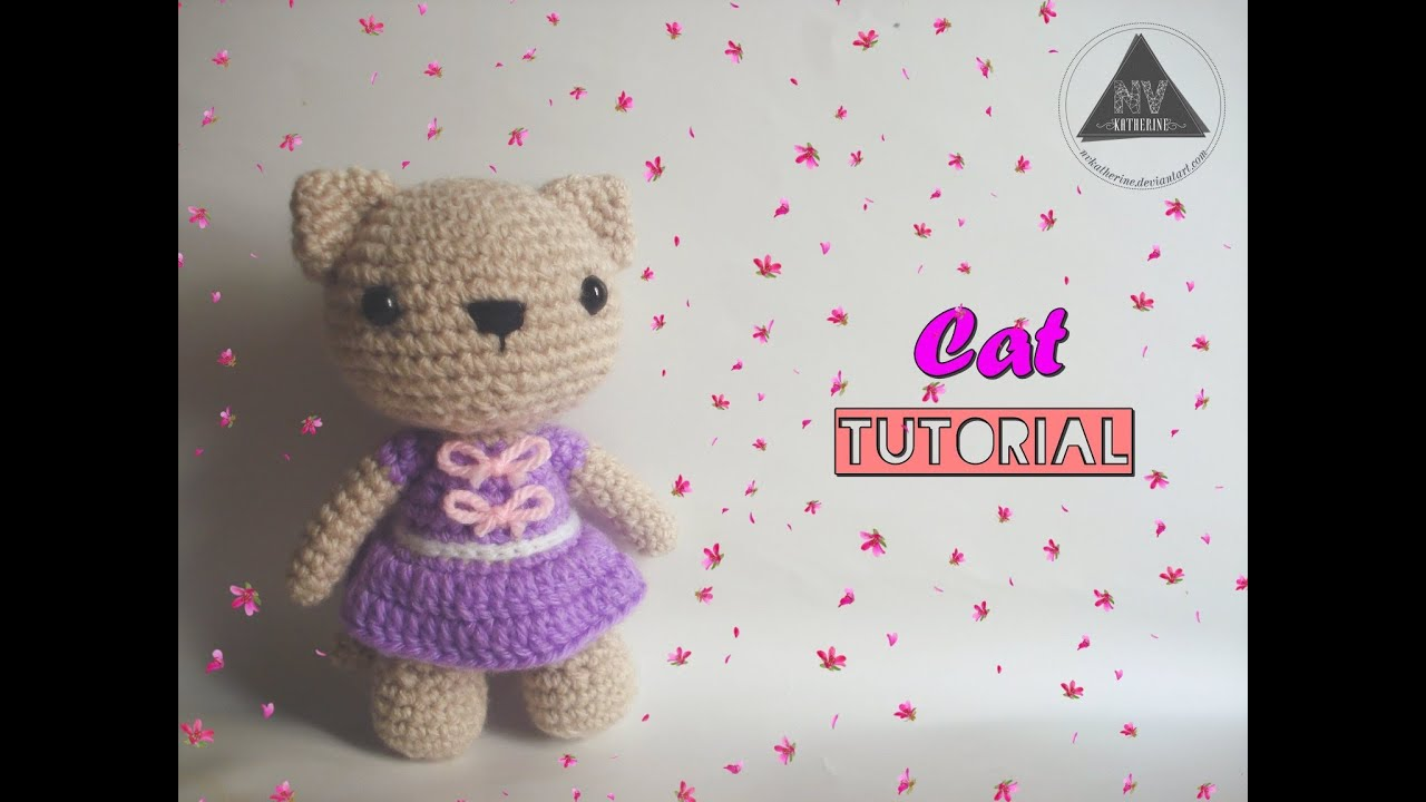 Tutorial Amigurumi Kitty : How To Crochet A Cat Amigurumi [FULL TUTORIAL] - YouTube