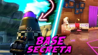 SPACE COHETE SECRET BASE in FORTNITE Battle Royale - Superheroes !?