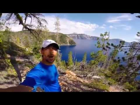 Crater Lake National Park Hiking