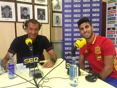 """Entrevista de Asensio en 'El Larguero' """"Quiero ser referencia en el RM"""""""
