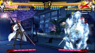 Persona 4 Arena - SP Skills and Instant Kills Exhibition