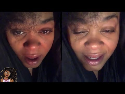 Jill Scott Online Drunk And Crying?
