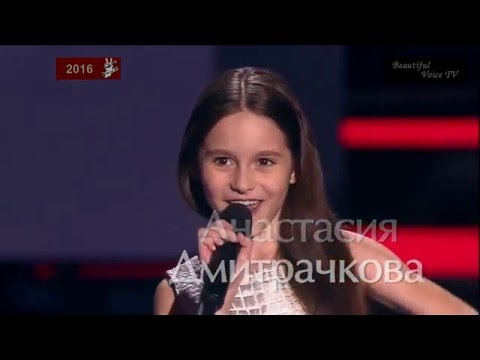 Anastasia.'Padam Padam'(Edith Piaf).The Voice Kids Russia 2016.