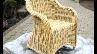 видео Как ухаживать за плетеной мебелью. Обновление плетеной мебели