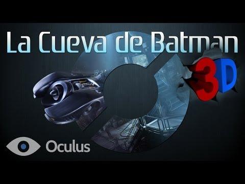 La Cueva de Batman 3D SBS - Oculus Rift: GAMEPLAY