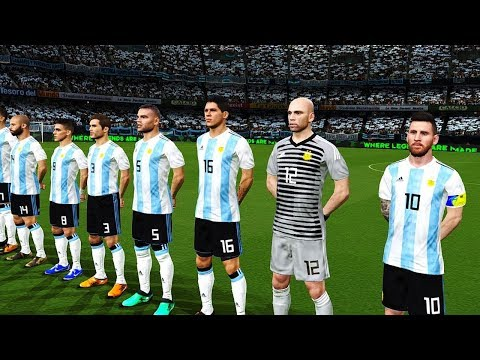 Argentina vs Croatia  Group D  FIFA World Cup Russia 21062018 Gameplay