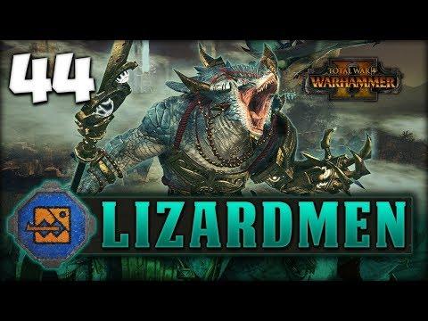 THE FINAL BATTLE! Total War: Warhammer 2 - Lizardmen Campaign - Kroq-Gar #44